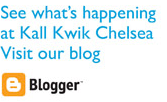 See what's happening at Kall Kwik Chelsea. Visit our blog.